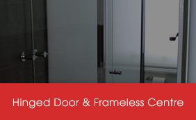 Semi-Frameless Hinged Door Screens